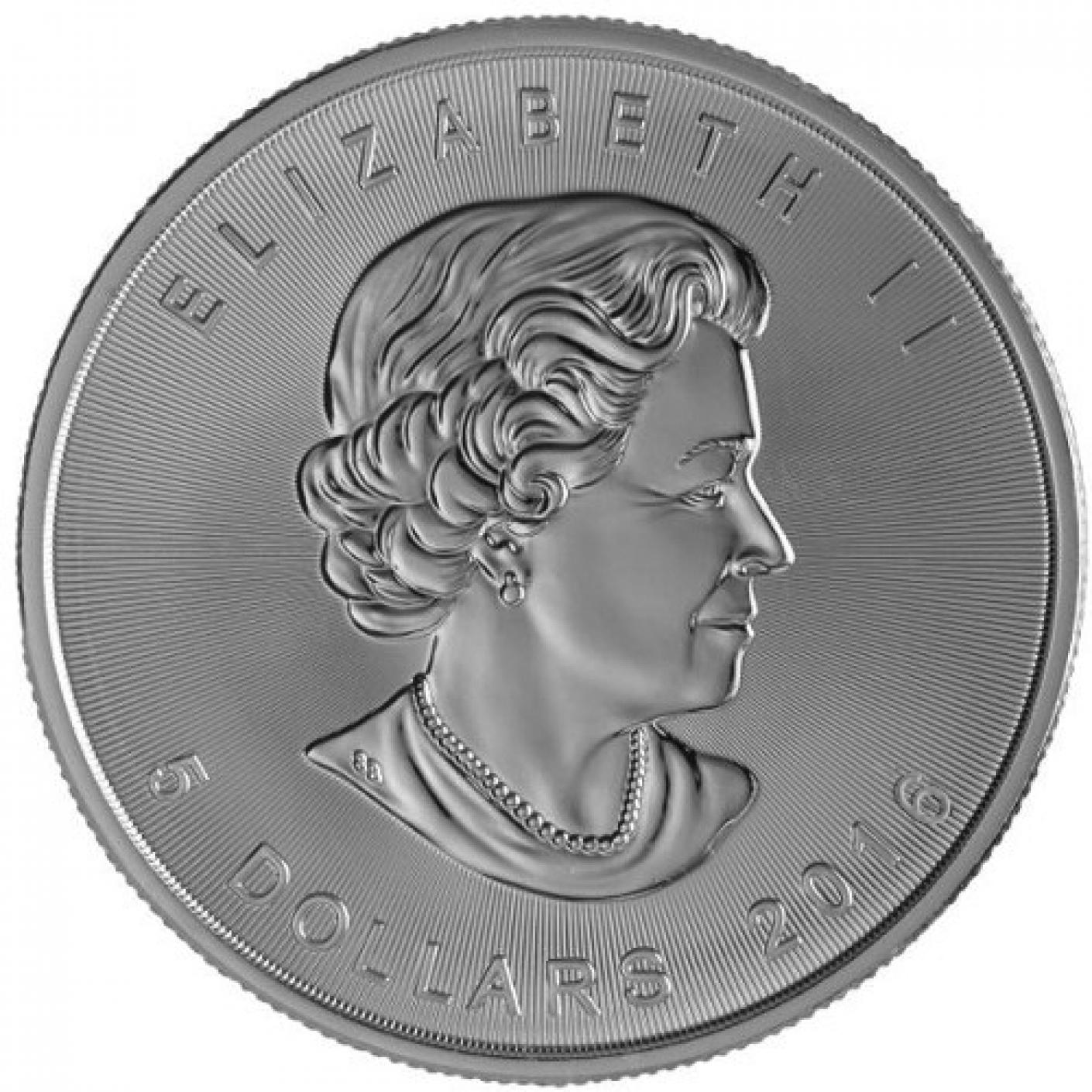 2016Canadian Maple Leaf silver coins