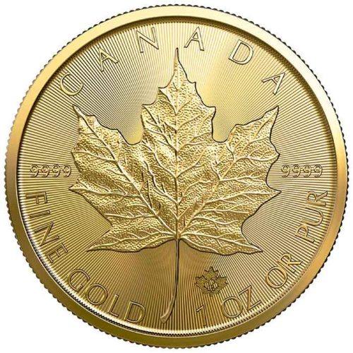 1 Oz RCM Maple Leaf Pure Gold Coin 2019 - Royal Canadian Mint | Bullion Mart